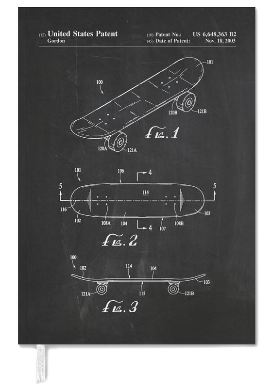 Skateboard Personal Planner