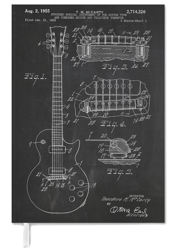 Zwart en wit, Gitaar, Guitar agenda
