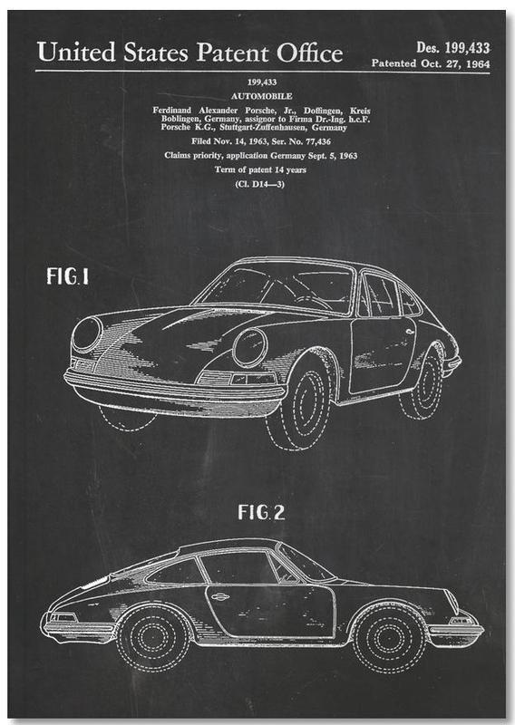 Vintage Car Notebook