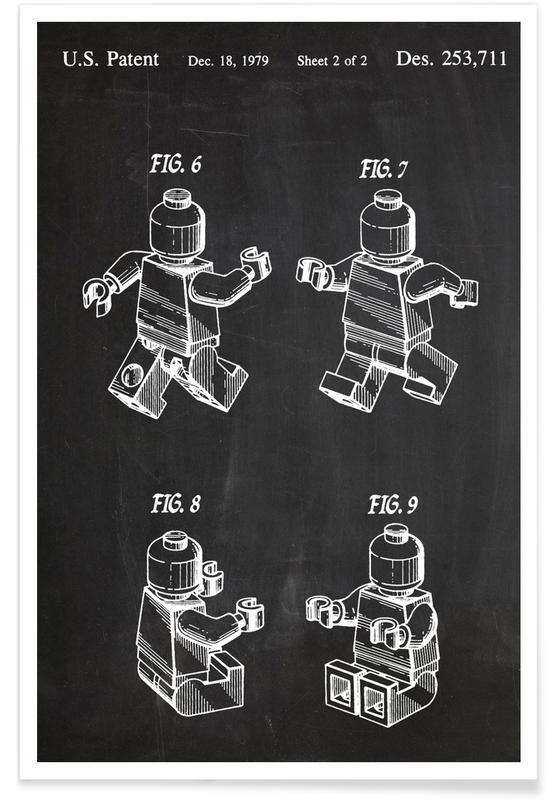 Baksteen - patent poster
