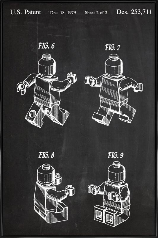 Brick ingelijste poster