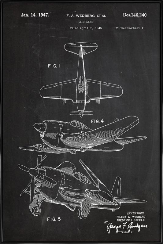 Airplane II Framed Poster