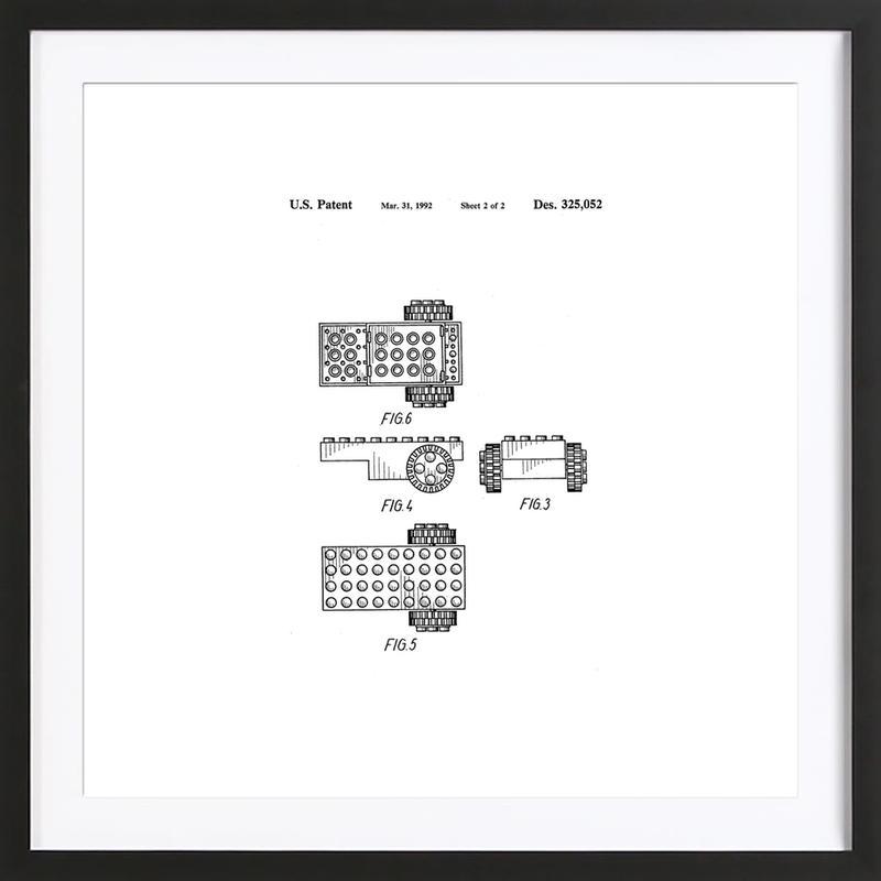 Brick Wheel 2 Framed Print