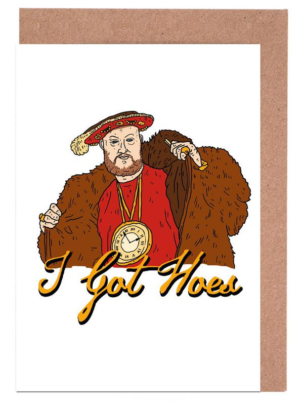 Humour, Personnages politiques, Street Art, Henry V cartes de vœux