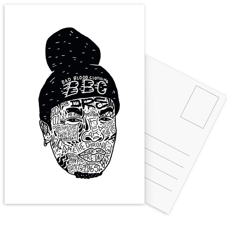 Dre Postcard Set