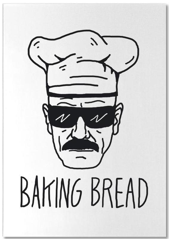 Bake Bread -Notizblock