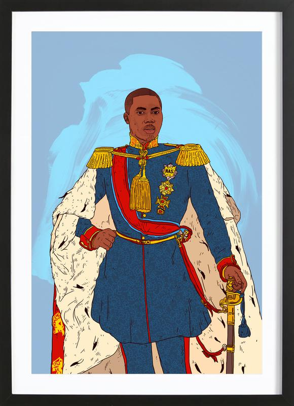 Rap Royalty 002 Framed Print