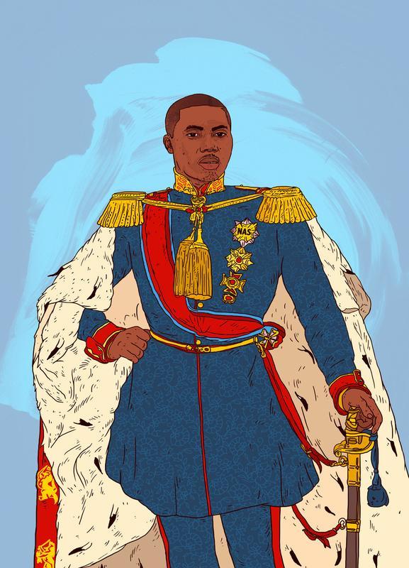Rap Royalty 002 canvas doek