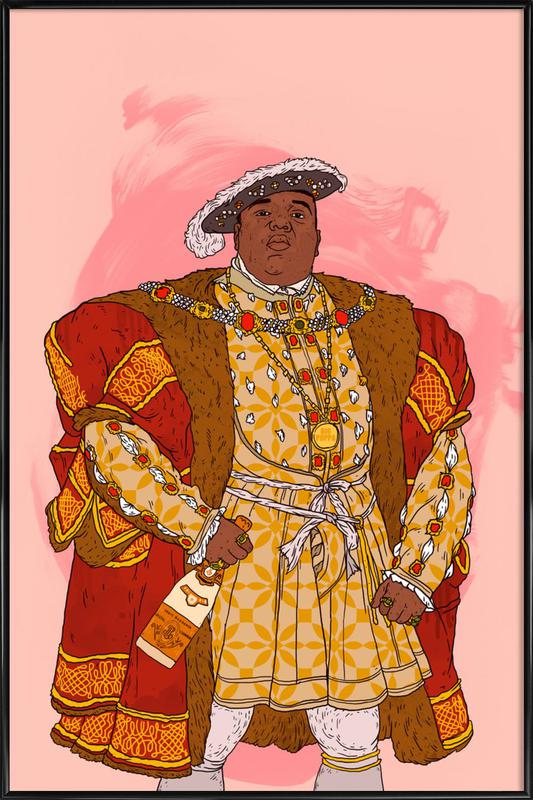 Rap Royalty 001 Framed Poster