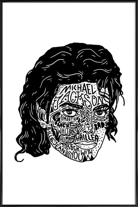Mikey ingelijste poster