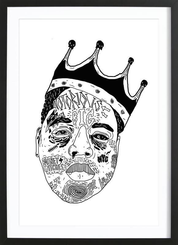 Biggie Framed Print