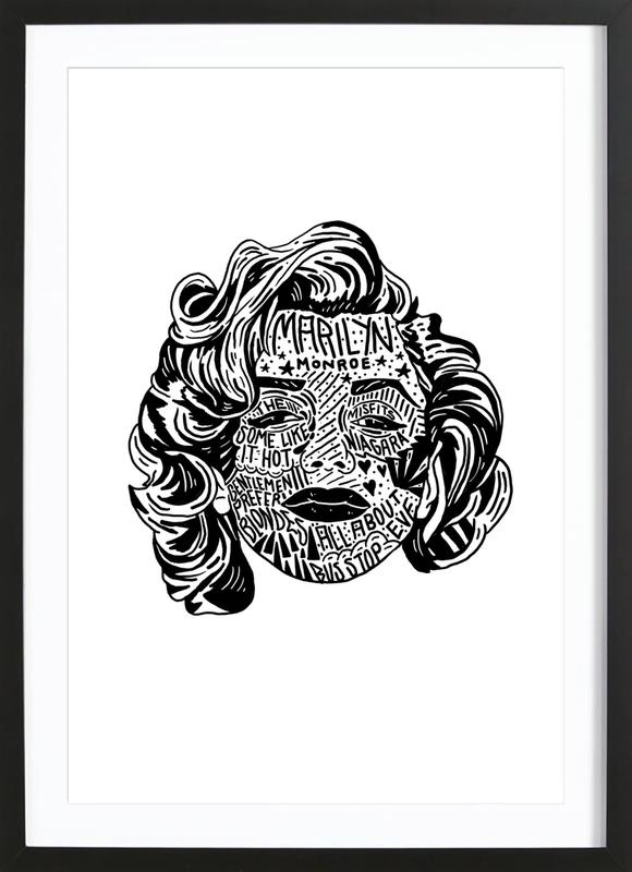 Marylin Framed Print