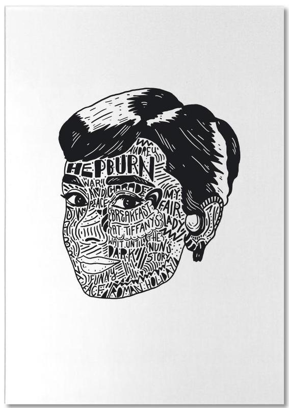 Audrey -Notizblock