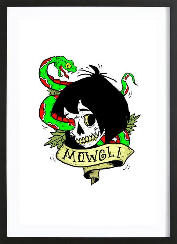 Mowgli Framed Print
