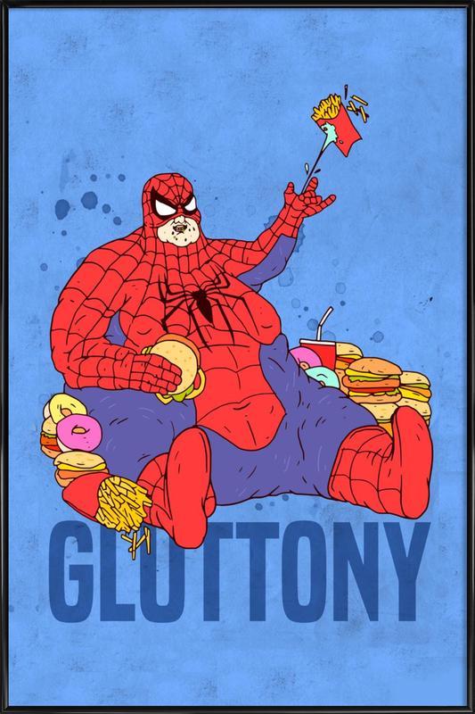 Gluttony Framed Poster