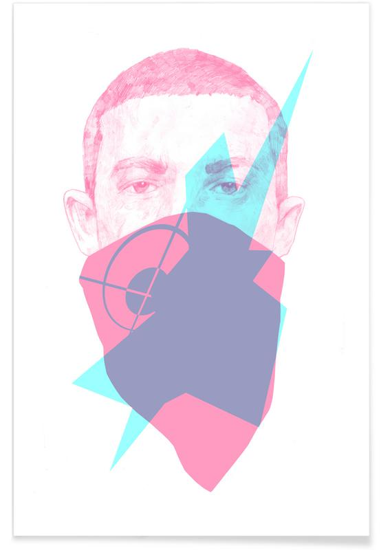 Eminem, Street Art, 007 affiche