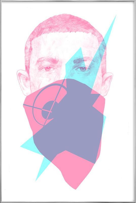 007 -Poster im Alurahmen