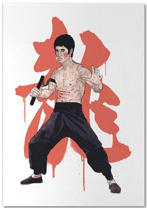 Bruce Lee bloc-notes