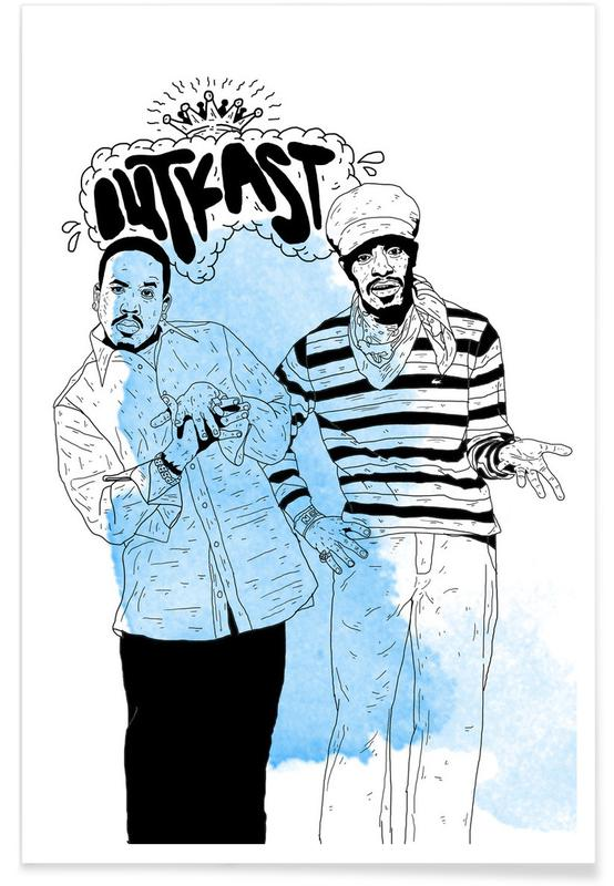 , Outkast -Poster