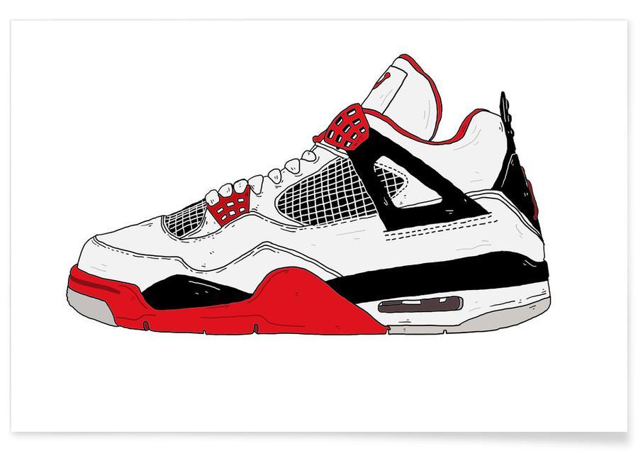 , Jordan 4 affiche