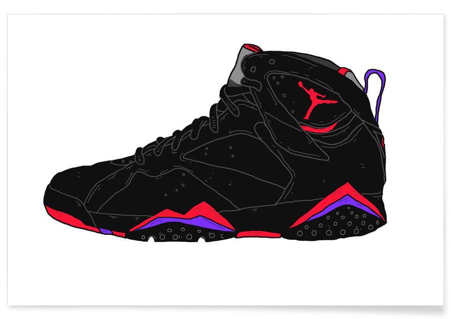 , Jordans affiche