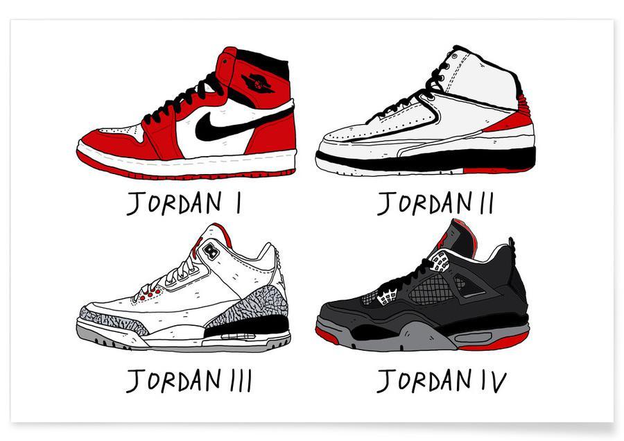 , Jordan Evolution Poster