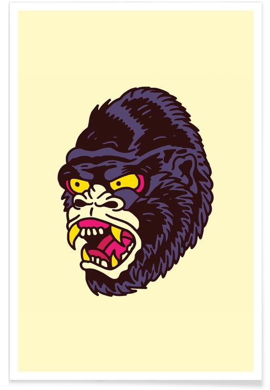 Singes, Gorilla affiche
