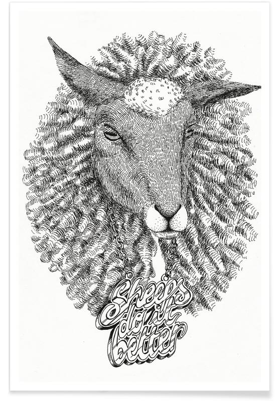 Sheeps Do It Better affiche