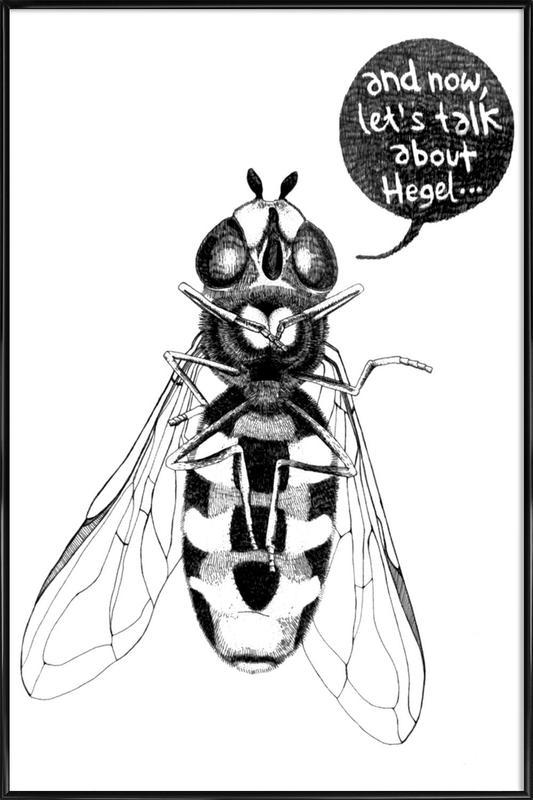 Annoying Bee Framed Poster