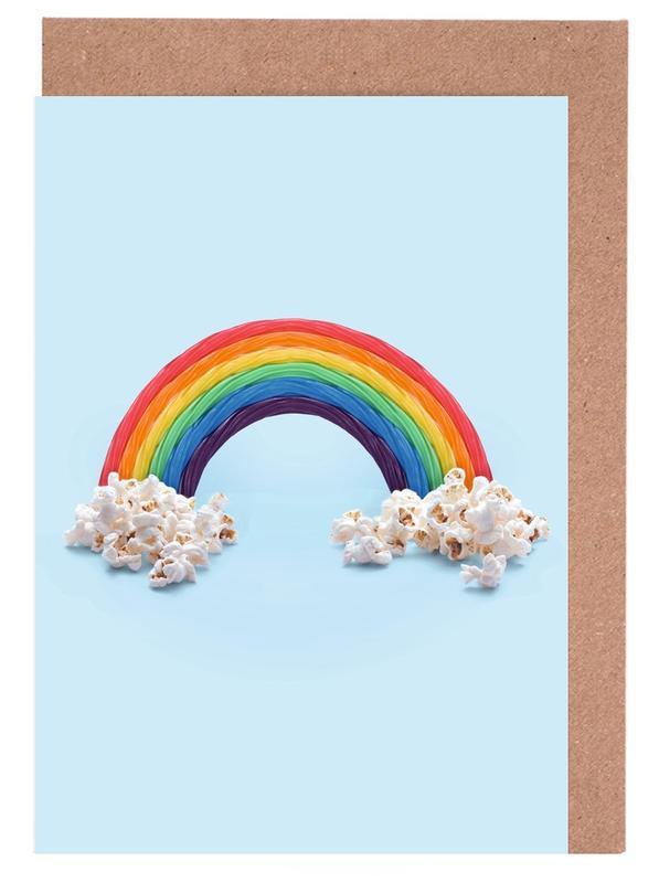 Glückwünsche, Candy Rainbow -Grußkarten-Set