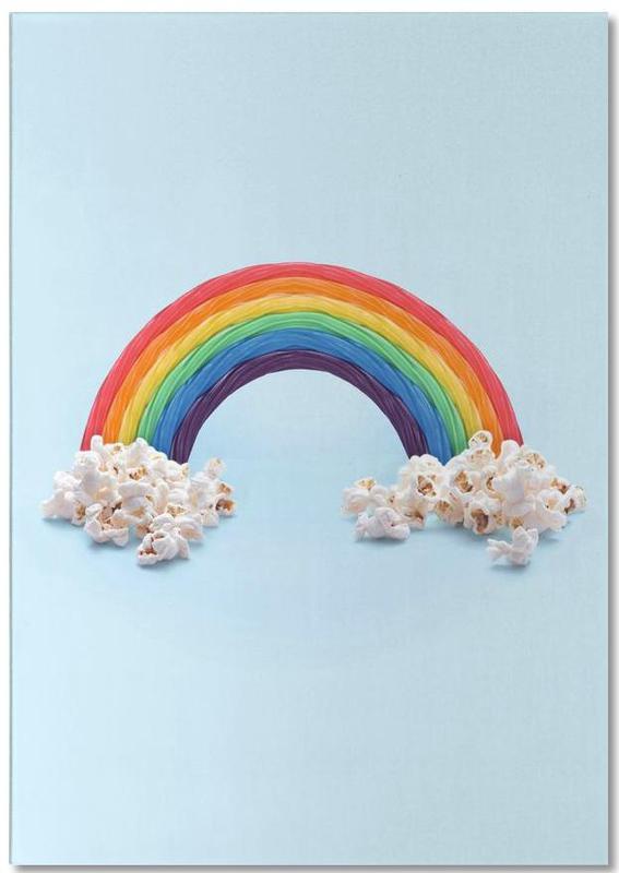 Candy Rainbow Notepad