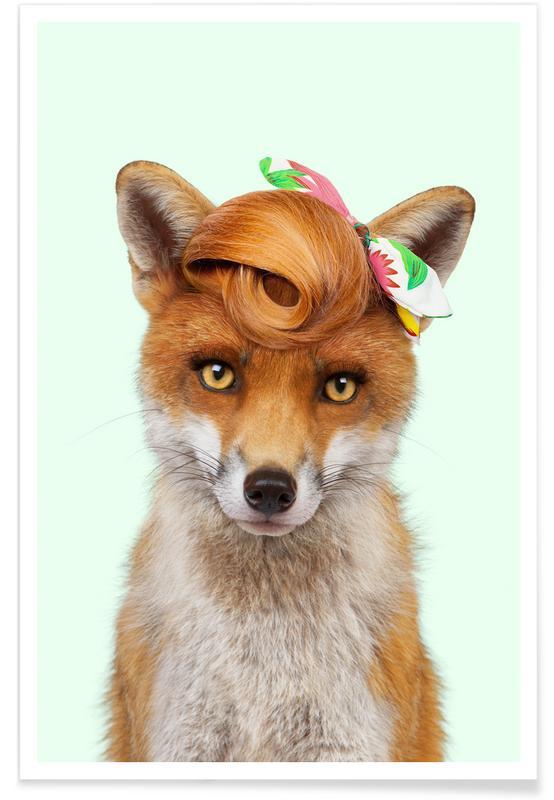 Vossen, Grappig, Mis Foxy poster