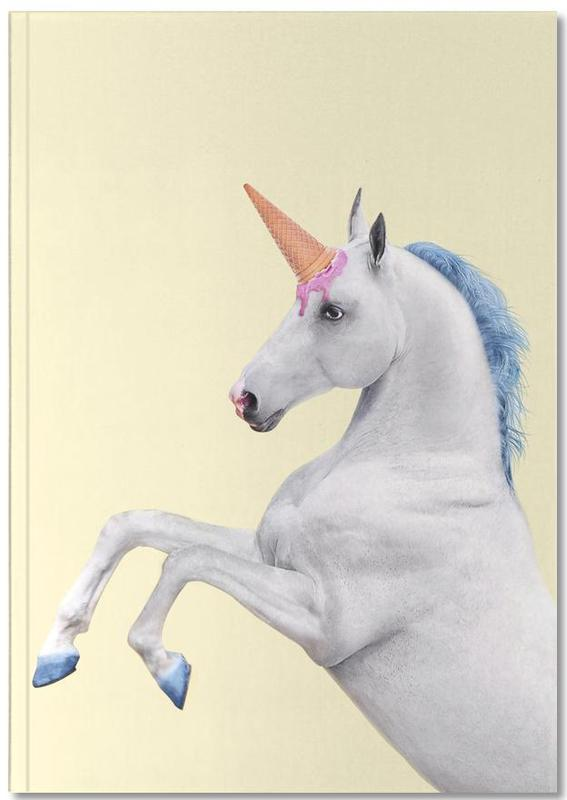 Ice Cream Unicorn Notebook