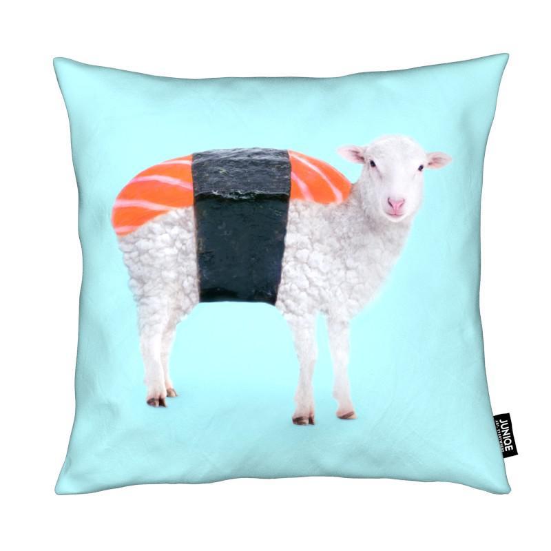 Moutons, Pop Art, Humour, Susheep coussin