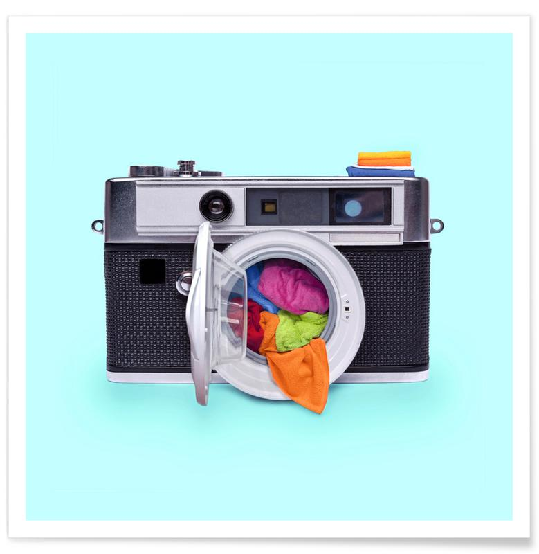 Pop art, Washing Camera Plakat