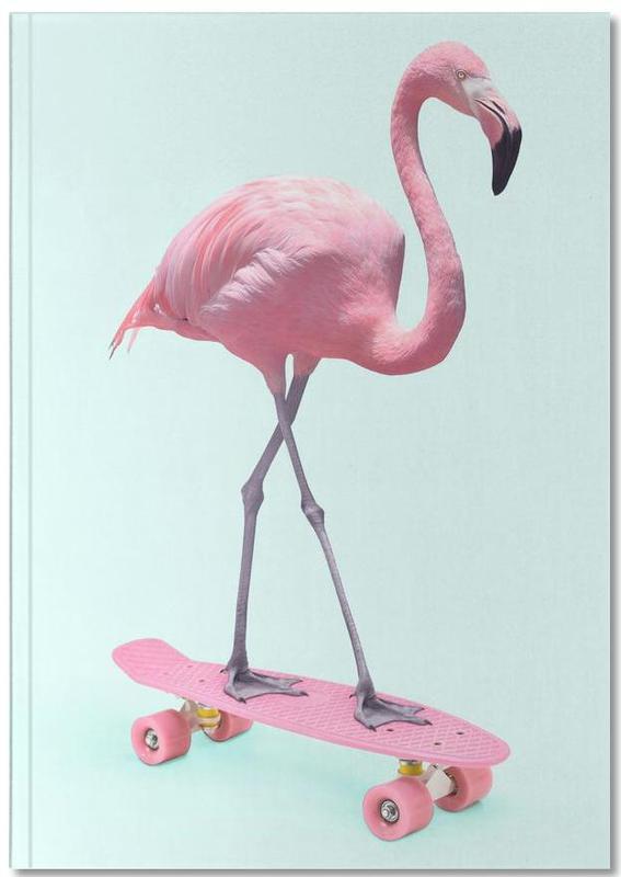 Humour, Flamants roses, Pop Art, Art pour enfants, Skate Flamingo Notebook