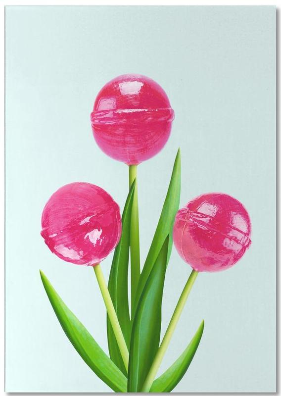 Lollipop Tulips 1 bloc-notes