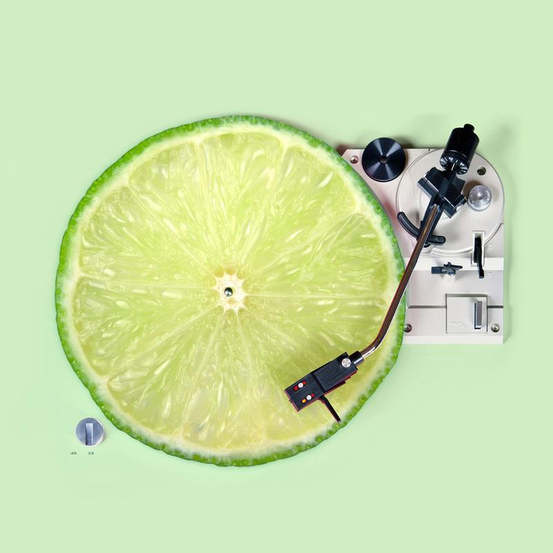 Lemon DJ -Leinwandbild