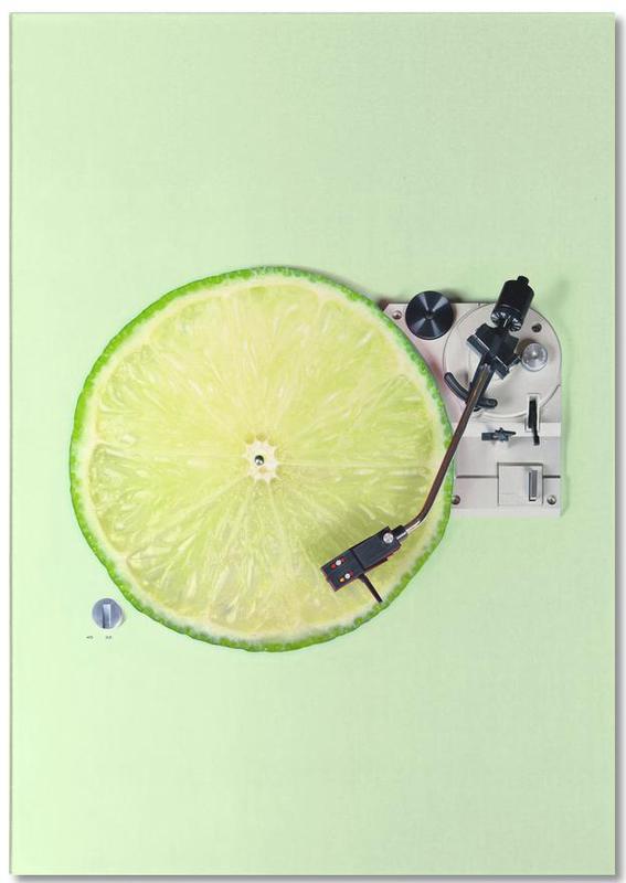 Funny, Lemons, Lemon DJ Notepad