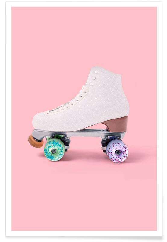 Roller Donut Poster