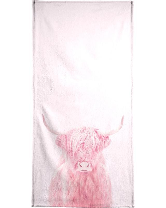 Highland Cows, Funny, Highland Cow Bath Towel