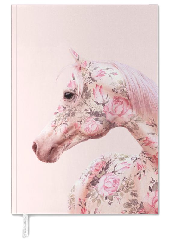 Horses, Floral Horse Personal Planner