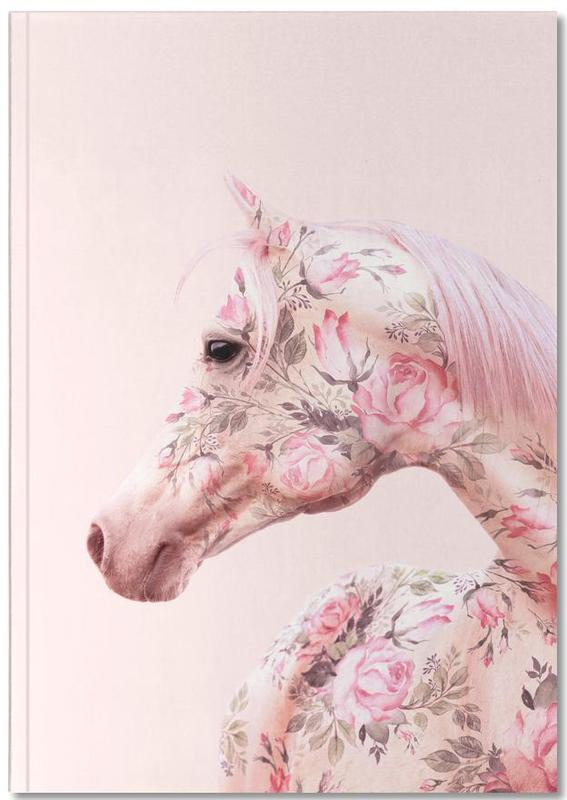 Floral Horse Notebook