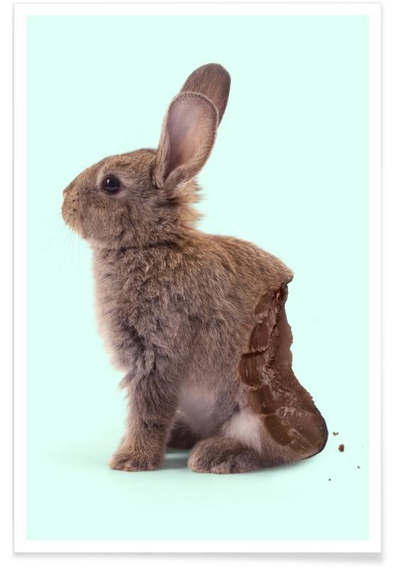 Chocolate Rabbit Poster