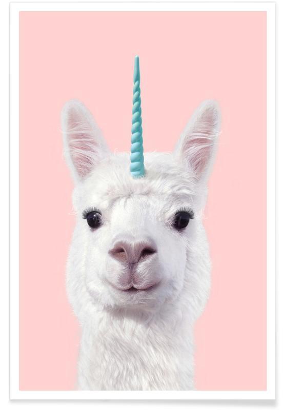 Alpaca Unicorn Poster
