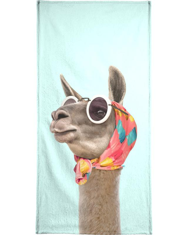 Fashion Llama Beach Towel