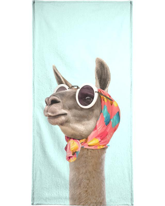 Fashion Llama -Strandtuch