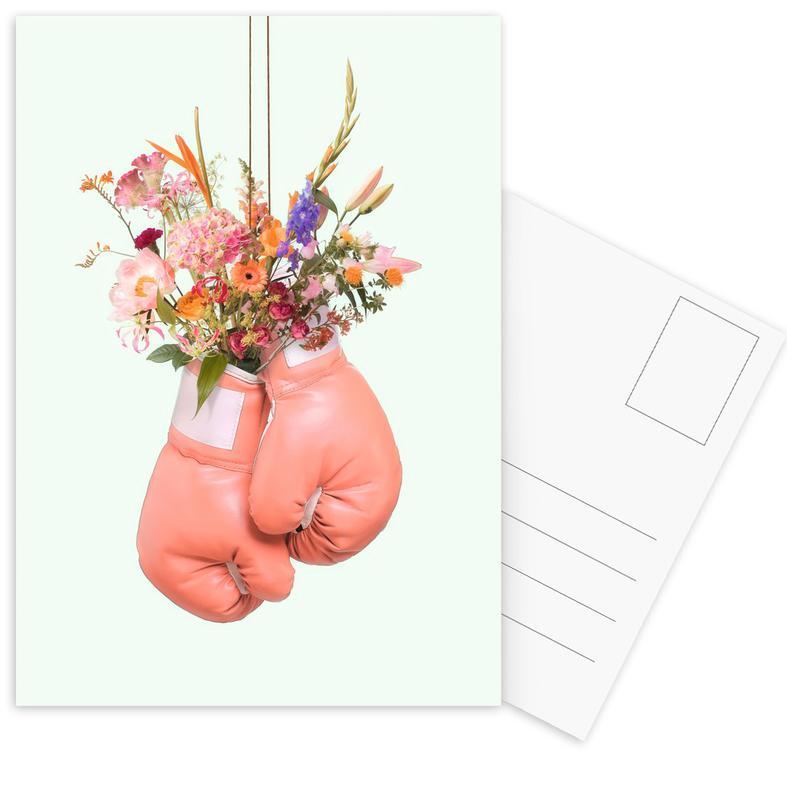 Flower Power -Postkartenset