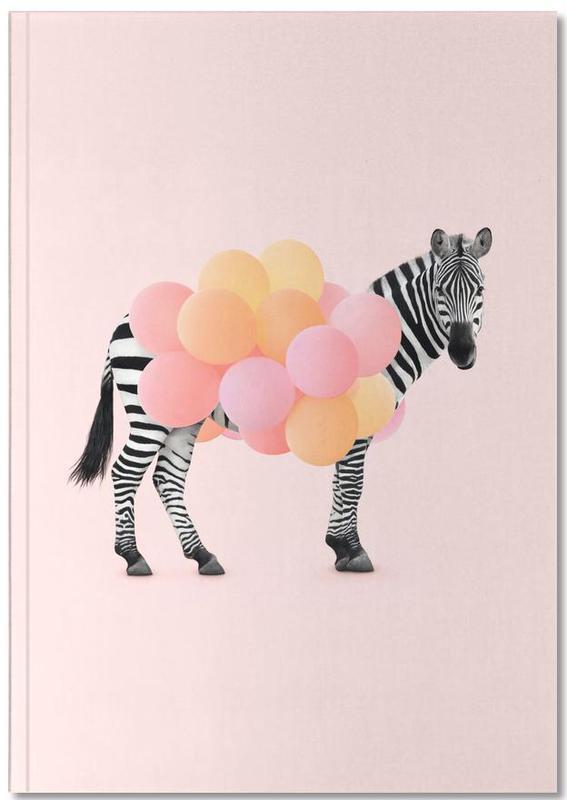 Zèbres, Humour, Art pour enfants, Zebra Balloon Notebook