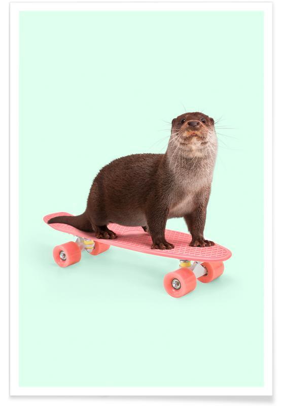 , Skate Otter affiche